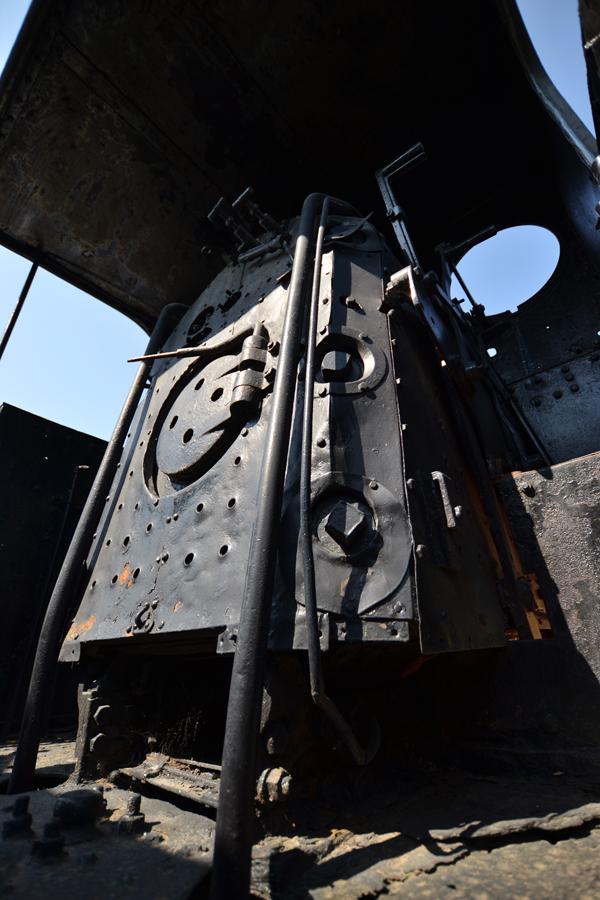 Train coal oven