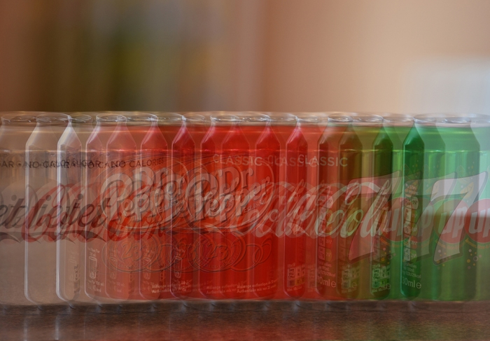 Impressionist Cans Photograph